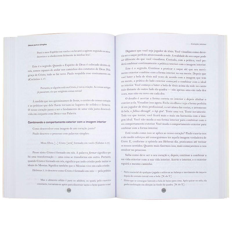 Livro: Jesus Puro E Simples | Wayne Cordeiro