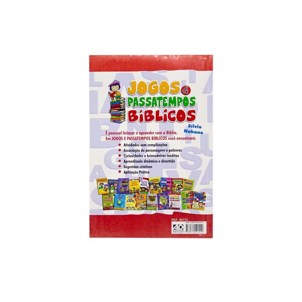 Livro: Jogos E Passatempos Bíblicos |  Silvio Nakano