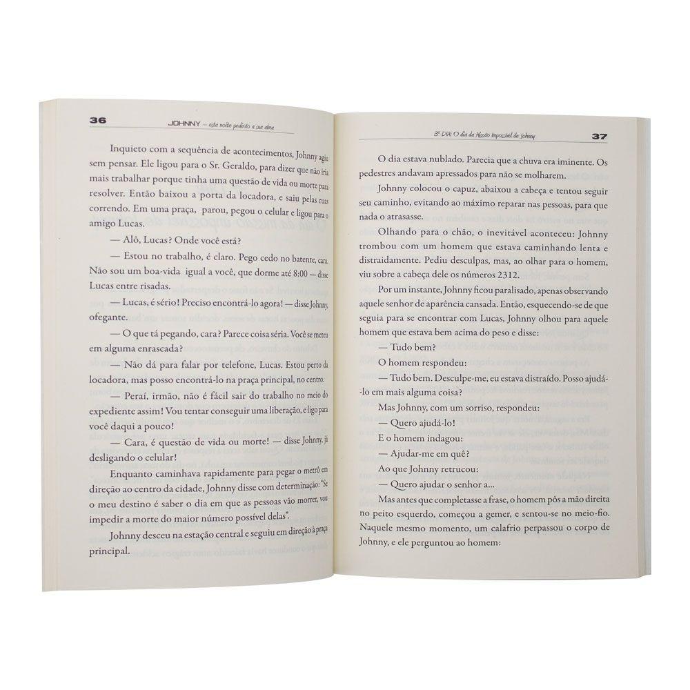 Livro: Johnny - Esta Noite Pedirão Sua Alma | Lúcio Barreto Jr