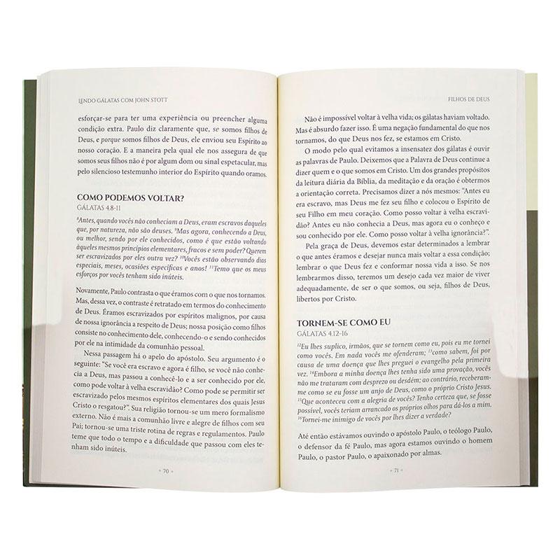 Livro: Lendo Gálatas Com John Stott   John Stott
