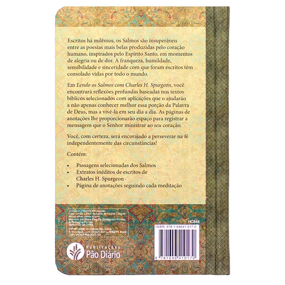 Livro: Lendo Os Salmos Com Spurgeon | C.H. Spurgeon