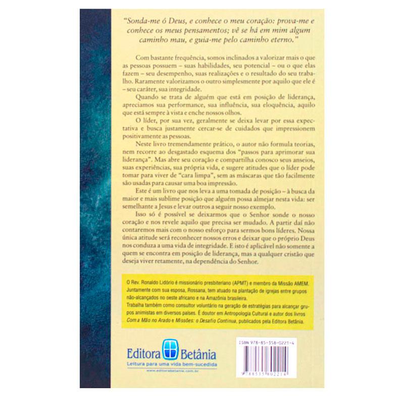 Livro: Liderança E Integridade   Ronaldo Lidório