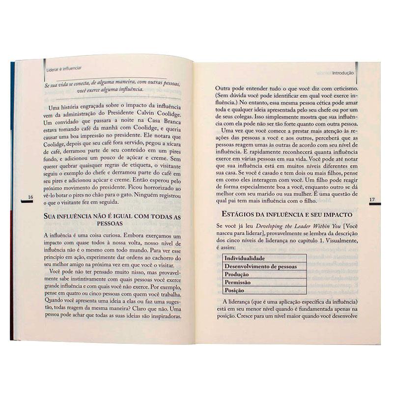Livro: Liderar É Influenciar | John C. Maxwell