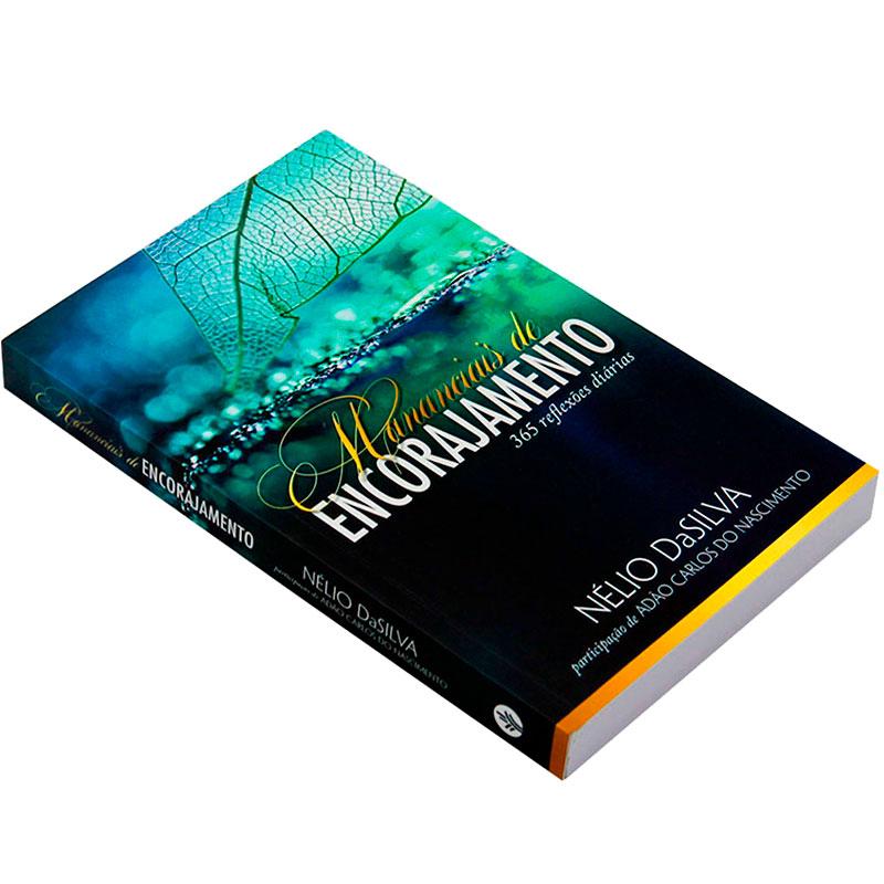 Livro: Mananciais De Encorajamento   Nélio da Silva E Adão Carlos do Nascimento