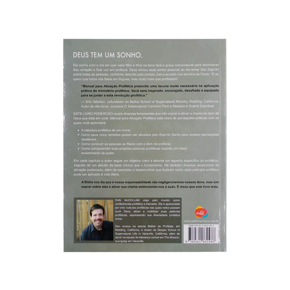 Livro: Manual Para Ativação Profetica | Dan Mccollam