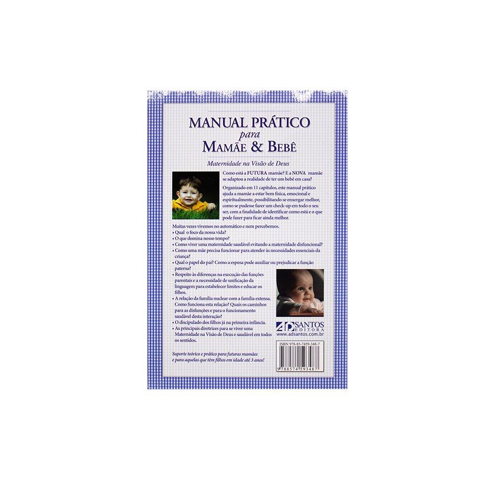 Livro: Manual Prático Para Mamãe E Bebê | Rebeca G. M. Cardoso