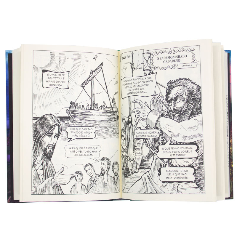 Livro: O Evangelho Em Quadrinhos   Cpp