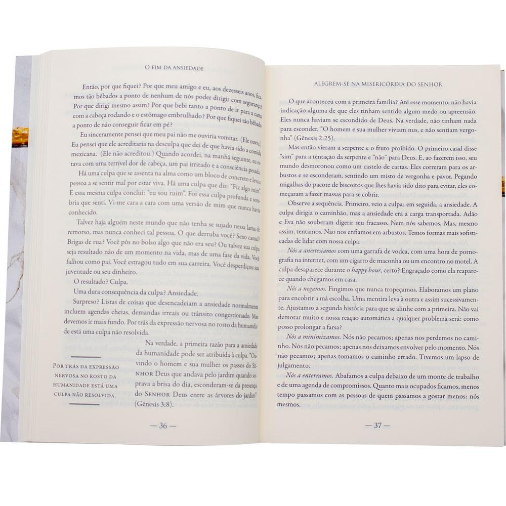 Livro: O Fim Da Ansiedade | Max Lucado