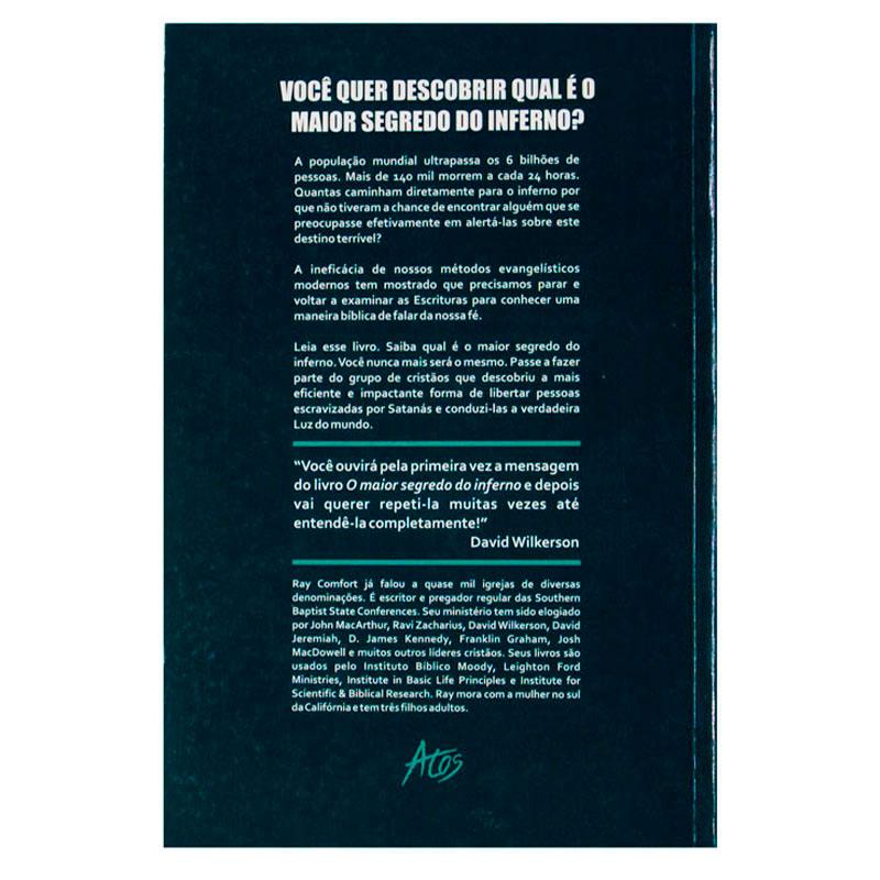 Livro: O Maior Segredo Do Inferno | Ray Comfort