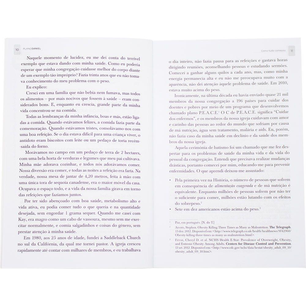 Livro: Plano Daniel   Rick Warren