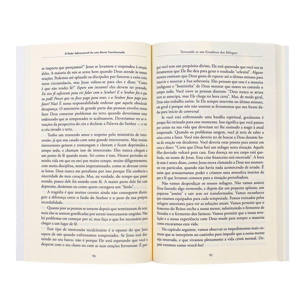 Livro: Poder Sobrenatural De Um Mente Transformada | Bill Johnson