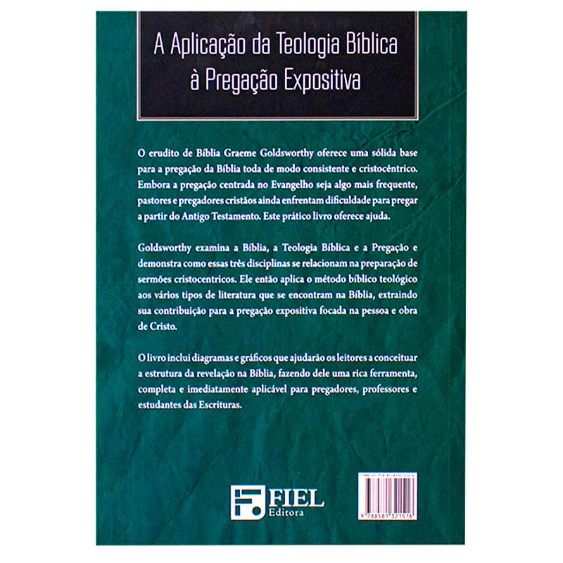 Livro: Pregando Toda A Bíblia Como Escritura Cristã | Graeme Goldsworthy
