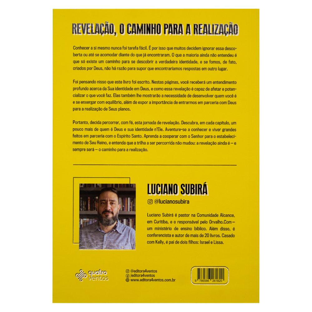 Livro: Revelação, o Caminho para a Realização   Luciano Subirá
