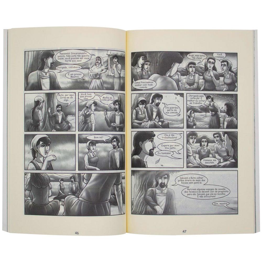 Livro: Rute A Mulher Moabita   Quadrinhos