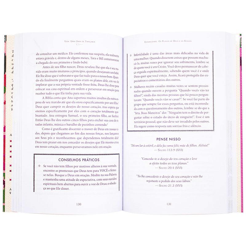 Livro: Vida Uma Obra De Tapecaria | Nancy Corbett Cole