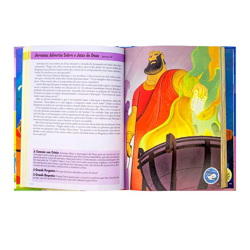 Os Grandes Heróis - Histórias Bíblicas Interativas | Capa Dura Ilustrada