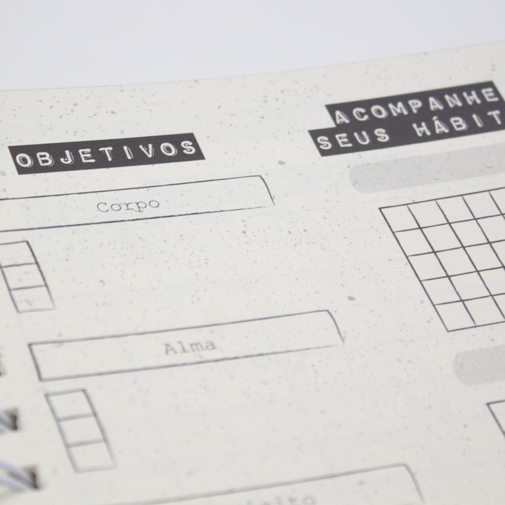 Planner: Minha Jornada | Minimalista | Quatro Ventos