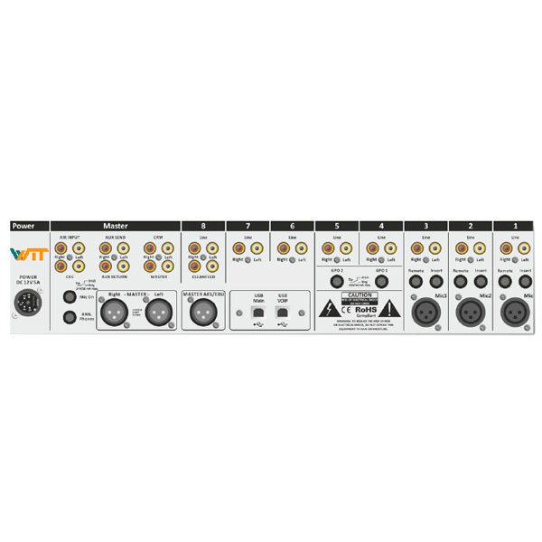 Console de Áudio - Roquette