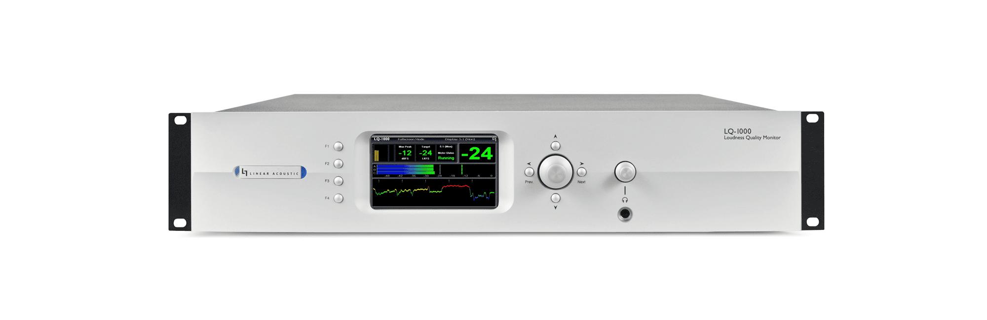 LQ1000 - Monitor de Loudness