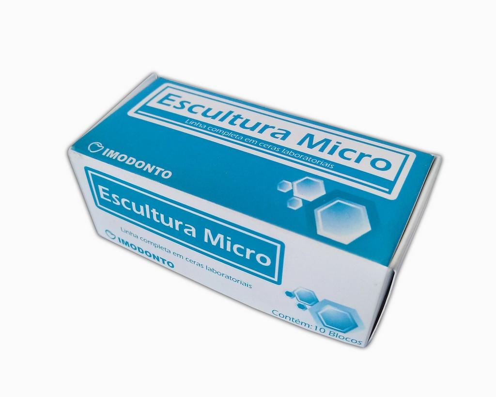 Cera Escultura Bloco Micro Imodonto