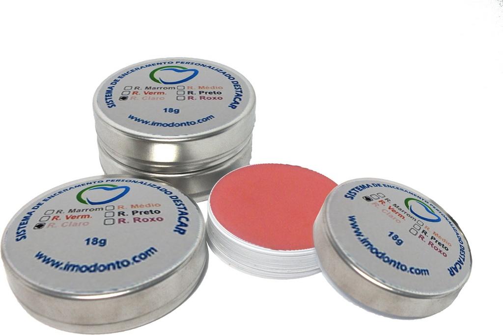 Kit Básico 6 Ceras para Personalização de Gengiva Sistema SMT - Imodonto