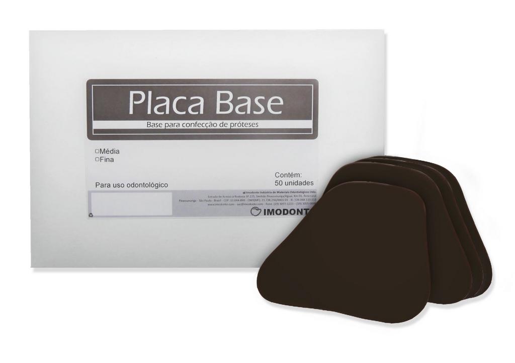 Placa Base Fina - 50 Unidades