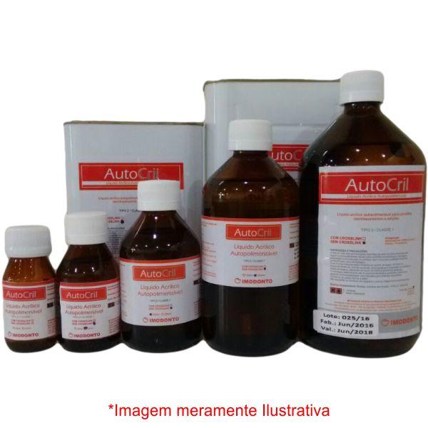 Resina Acrílica Autopolimerizável AutoCril Líquido - Imodonto