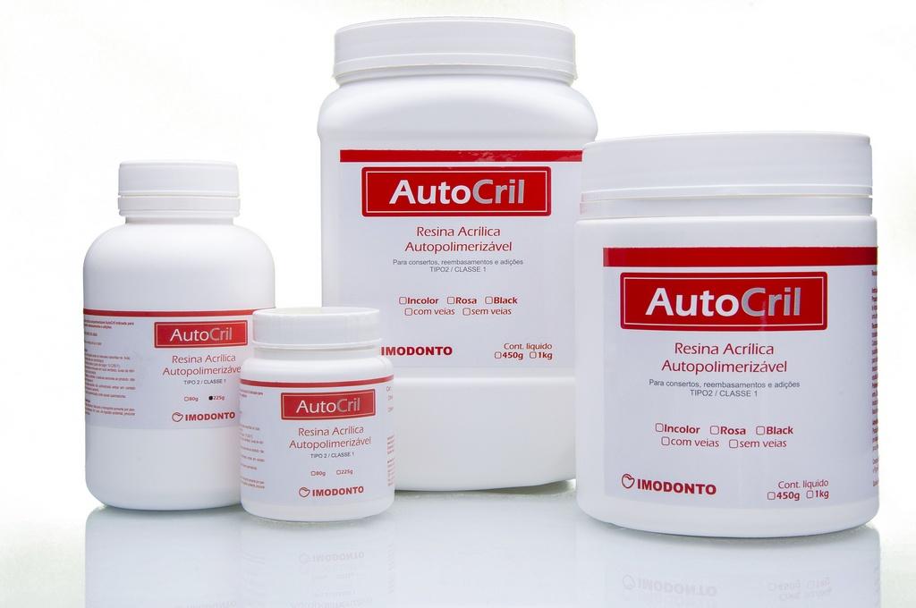 Resina Acrílica Autopolimerizável AutoCril Pó - Imodonto