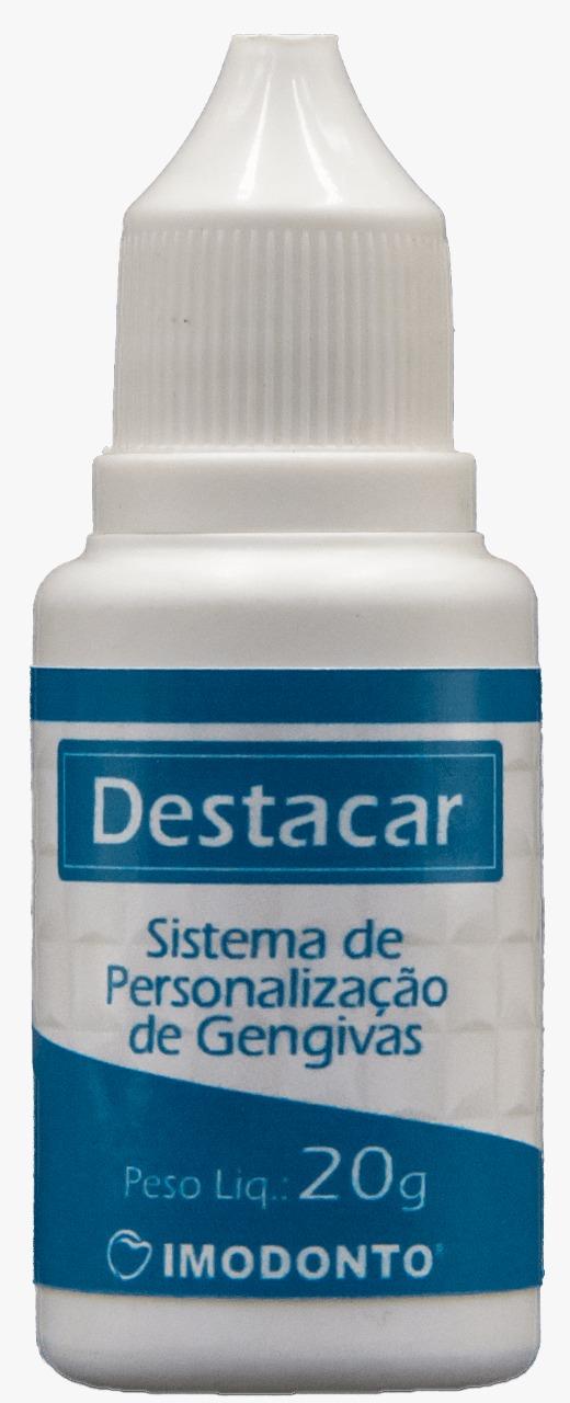 Resina Acrílica para Gengiva Destacar Pó - Imodonto