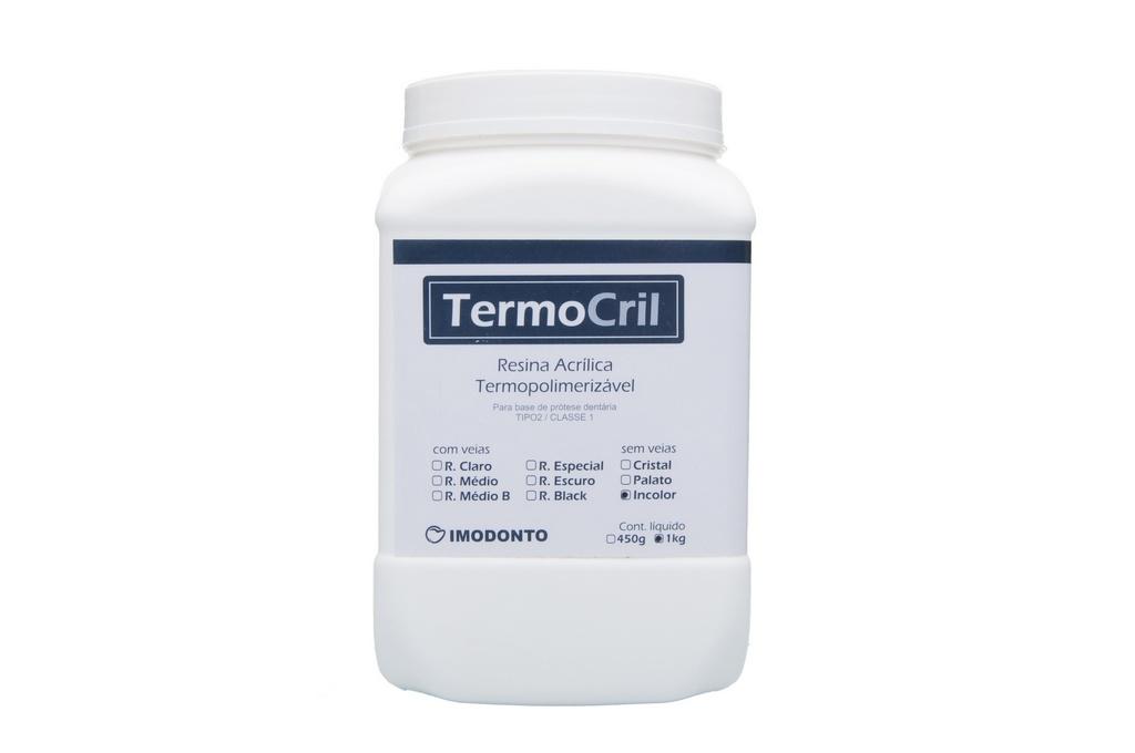 Resina Acrílica Termopolimerizável TermoCril Pó - Imodonto