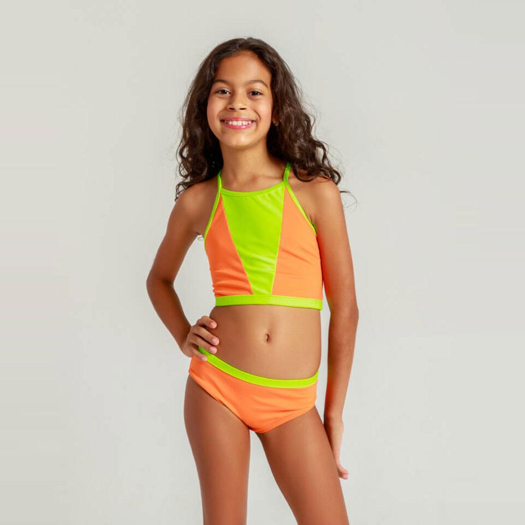 Biquíni Camila Neon laranja