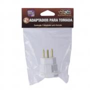 ADAPTADOR DE TOMADA PINO TRIPOLAR P/ TOMADA TRI 10A FOR.LINE 4313