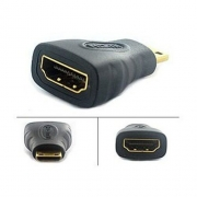 ADAPTADOR HDMI FEMEA X MINI HDMI MACHO BR CABO 03156