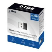 ADAPTADOR WIRELESS USB AC1300 DUAL BAND D-LINK DWA-181