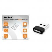 ADAPTADOR WIRELESS USB AC600 DUAL BAND D-LINK DWA-171