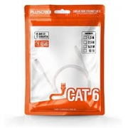 CABO DE REDE CAT5E 10 METROS PLUSCABLE PC-ETHUM100WH BRANCO