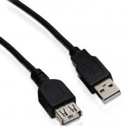 CABO EXTENSOR USB 2.0 03 METROS BR CABO 01130