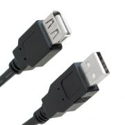 CABO EXTENSOR USB 2.0 AM/AF 5 METROS X-CELL XC-M/F-5M / PLUSCABLE