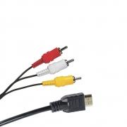 CABO HDMI 1.4 X 3RCA 3.0 METROS X-CELL XC-HDMIX3RCA