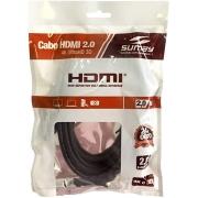 CABO HDMI / HDMI  2.0 2 METROS SUMAY SM-HDM20