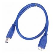 CABO USB 3.0 PARA MICRO USB 0,50 METRO BR CABO 1202