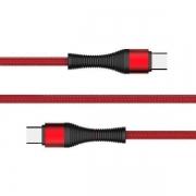 CABO USB-C PARA USB-C 01 METROS 3A.0A C3TECH CB-P160