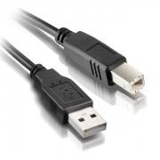 CABO USB P/ IMPRESSORA AM/BM 05 METROS DEX / PLUSCABLE PC-USB5001