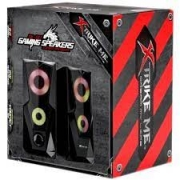 CAIXA DE SOM GAMER USB 2.0 6W RMS XTRIKE SK-501