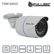 CAMERA FULL HD 720P COM INFRA. BULLET 25M FULLSEC FSM-AH13