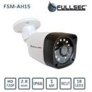 CAMERA FULL HD 720P COM INFRA. BULLET 25M FULLSEC FSM-AH15
