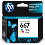 CARTUCHO DE TINTA 3YM78AL HP 667 2ML COLOR
