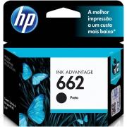 CARTUCHO DE TINTA CH562HB HP 662 PRETO