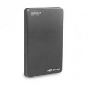 CASE PARA HD 2,5 USB 2.0 C3TECH CH-200GY CINZA
