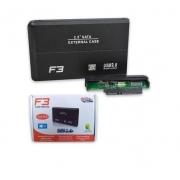 CASE PARA HD 2.5 USB 2.0 F3 CS-U2 PRETO